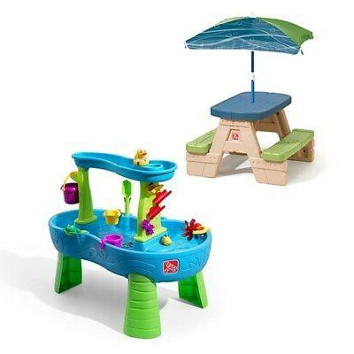sit and splash play set rain showers