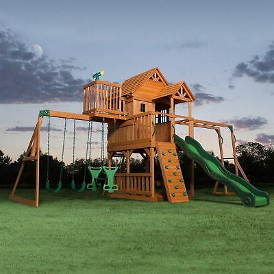 Backyard Discovery Weston Cedar Swing Set Reviews
