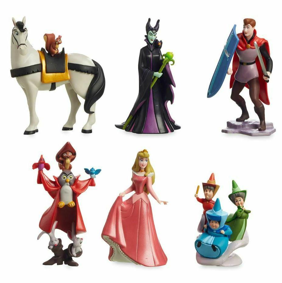 DISNEY BEAUTY Figure Playset CAKE NEW! FREE SHIPPING! LICENSED