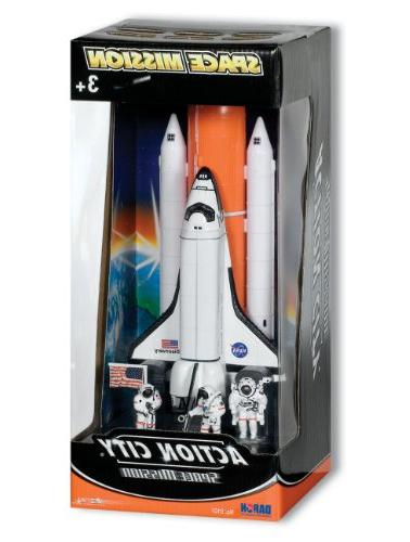 space mission shuttle stack