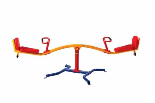 Gym Dandy Teeter Totter Absorbing Kids Playground 360 Rotation