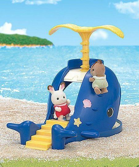 Calico Critters ~ AND WHALE Play Set ~ NIB