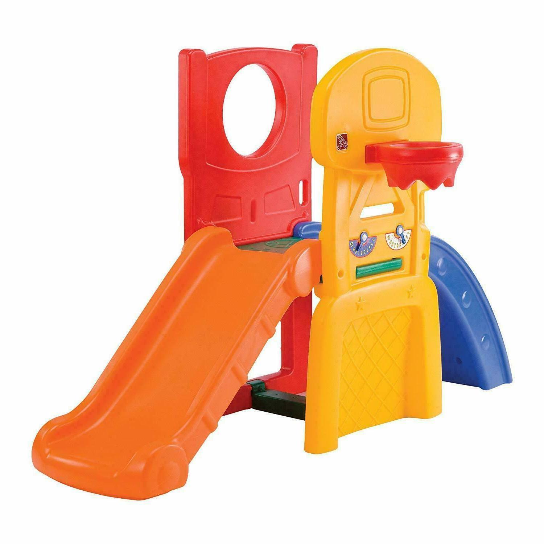 Set Sport Playset Climber Playful Slide Center