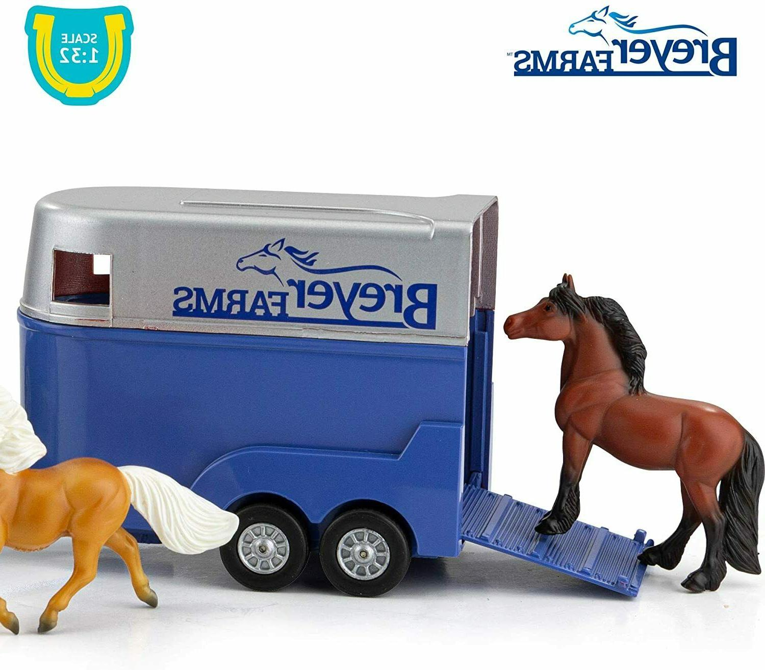 Breyer Rover and Horse Set