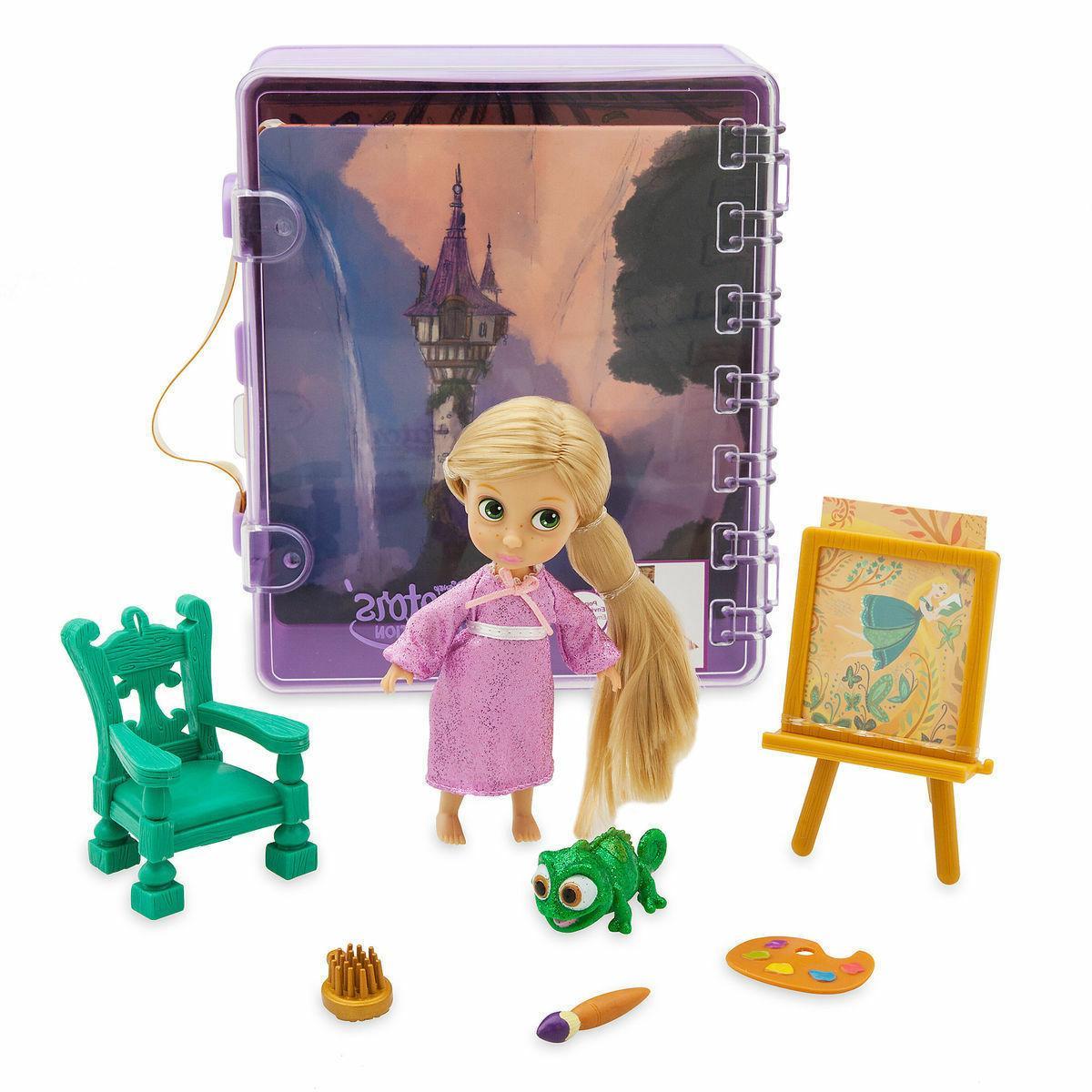 store animators collection rapunzel mini doll play