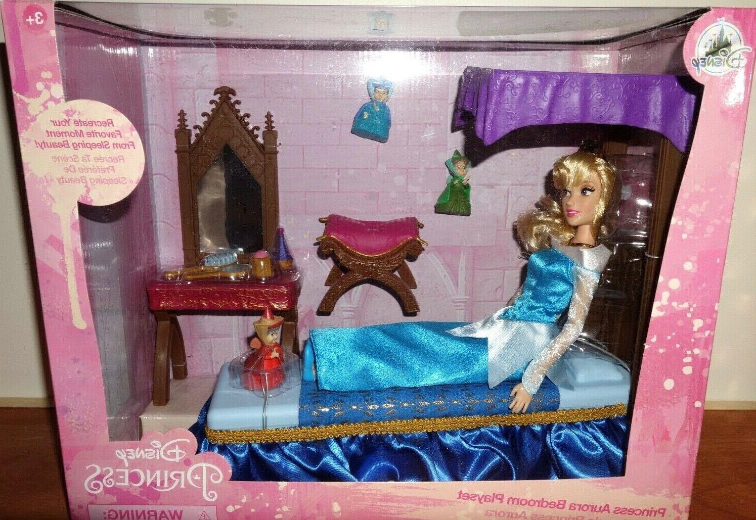 store aurora classic doll bedroom play set