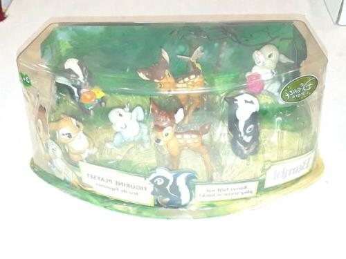 store bambi exclusive 6 piece figurine playset