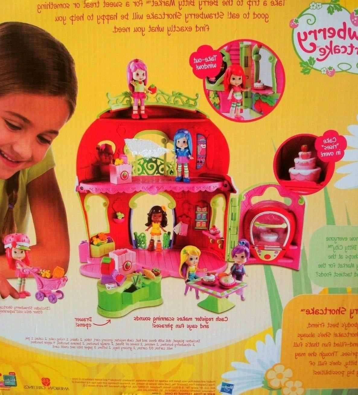 Hasbro Strawberry Bitty Play Set NEW Pieces