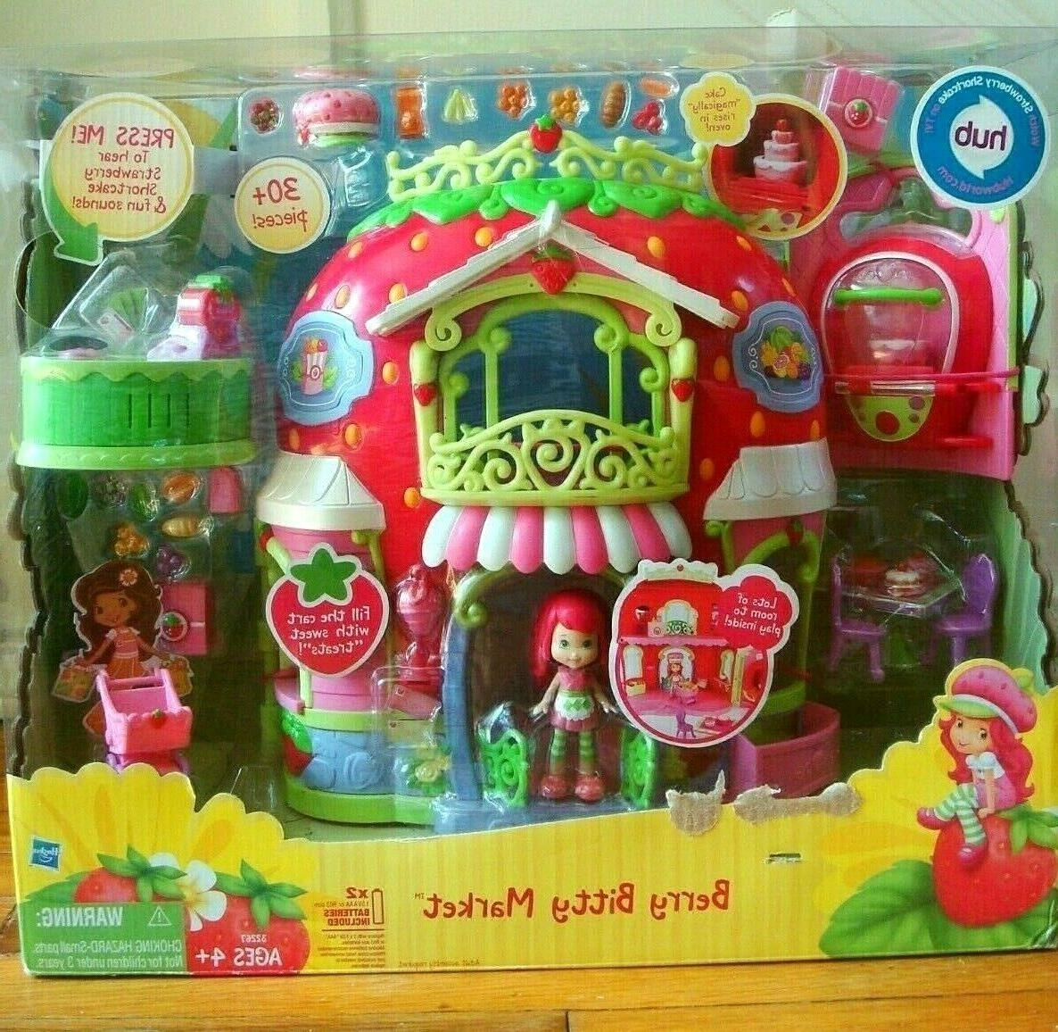 strawberry shortcake berry bitty market play set