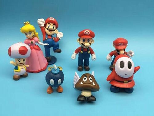 Super Mario 18pcs Playset Figurine