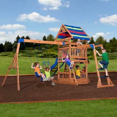 Swing Set Beach Slide Play