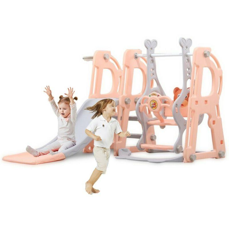 Swing Set Kids Playground Climber Playset