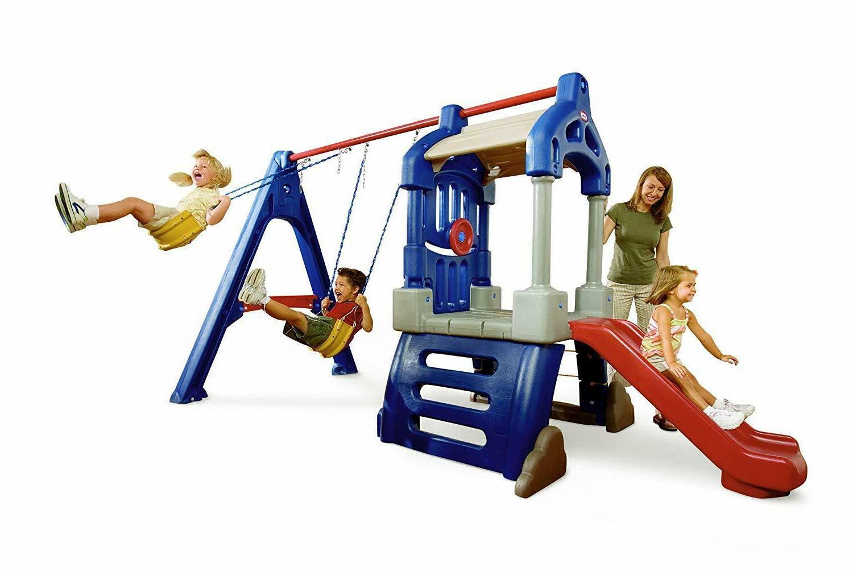 Swing Slide Toddler Preschool Indoor Playset