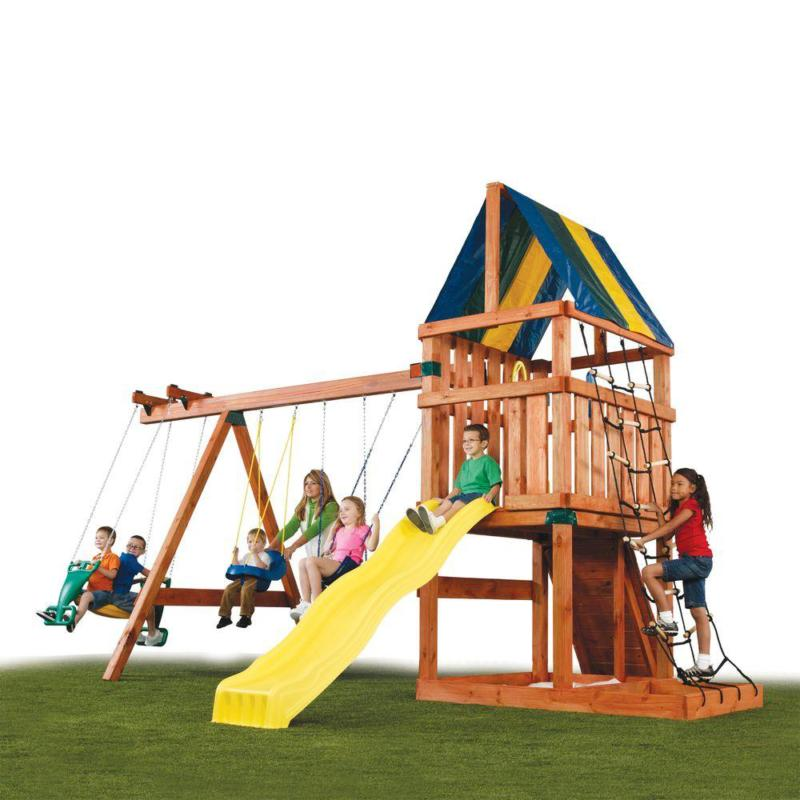 Swing Sets Backyard Hardware Outdoor New