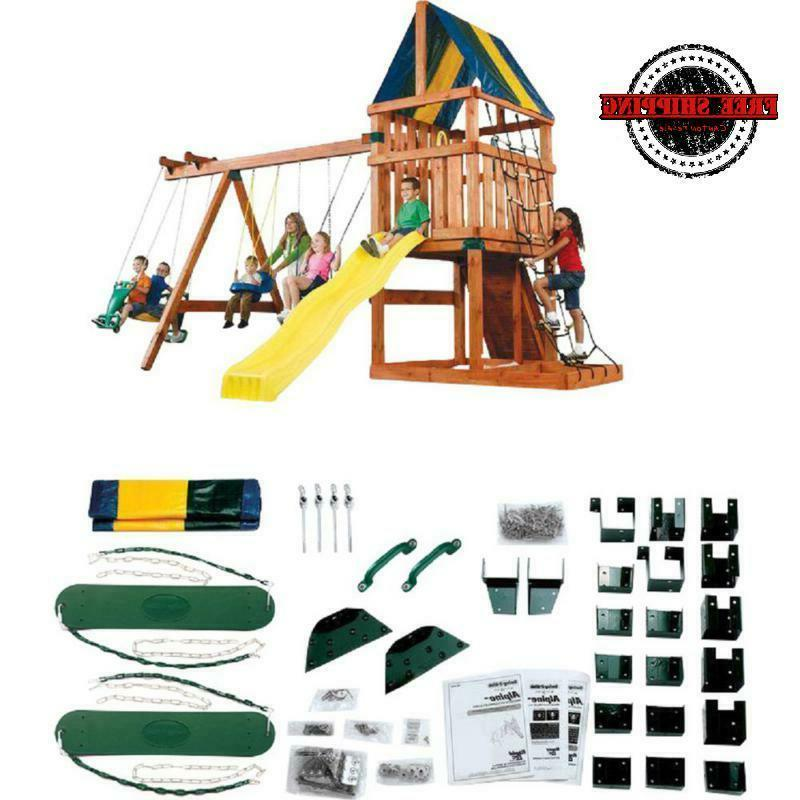 swing sets for backyard hardware kit children