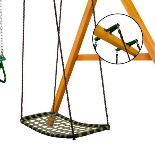 Swing Brackets Playset Steel Glider Secure Attachment