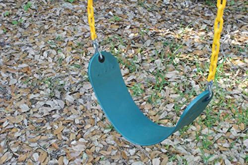 "Jungle Kingdom Pack Duty 66"" Coated - Playground Swing Set Replacement Snap Hooks"