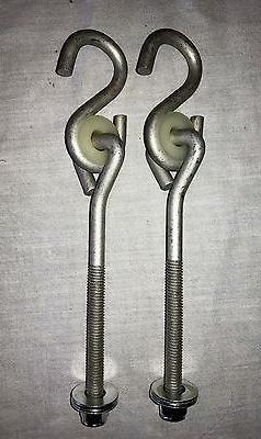 Swingset swing hanger,bolt thread hanger,play set,4x4 swings