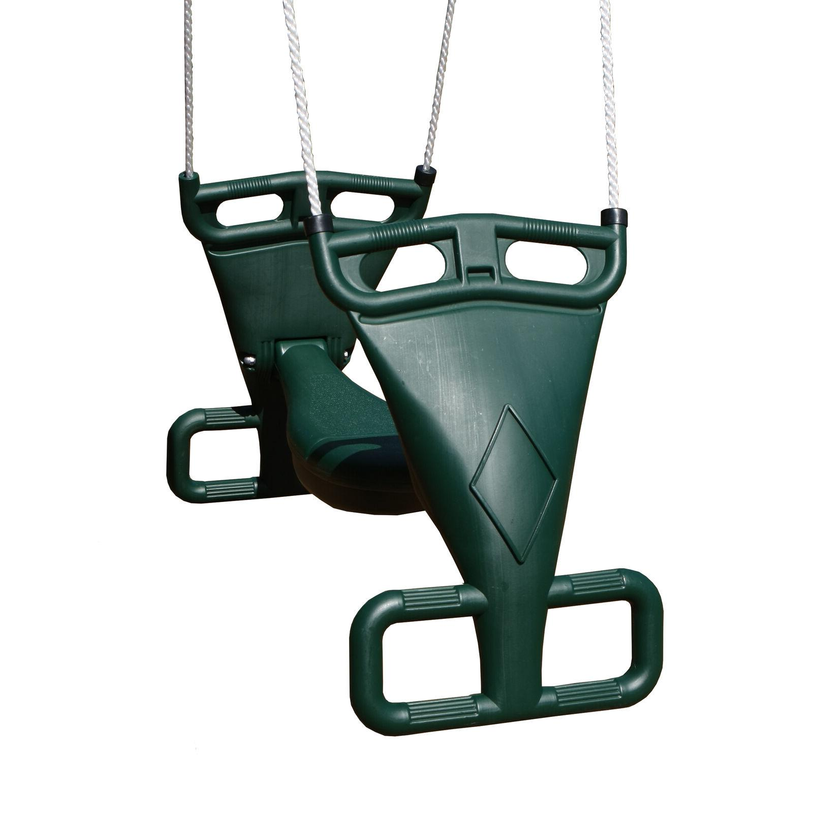 tandem swing with nylon rope free shipping