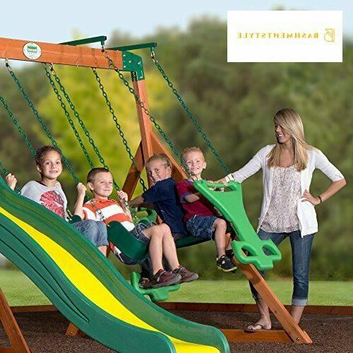 Backyard Tanglewood Cedar Set
