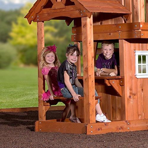 Backyard Cedar Set