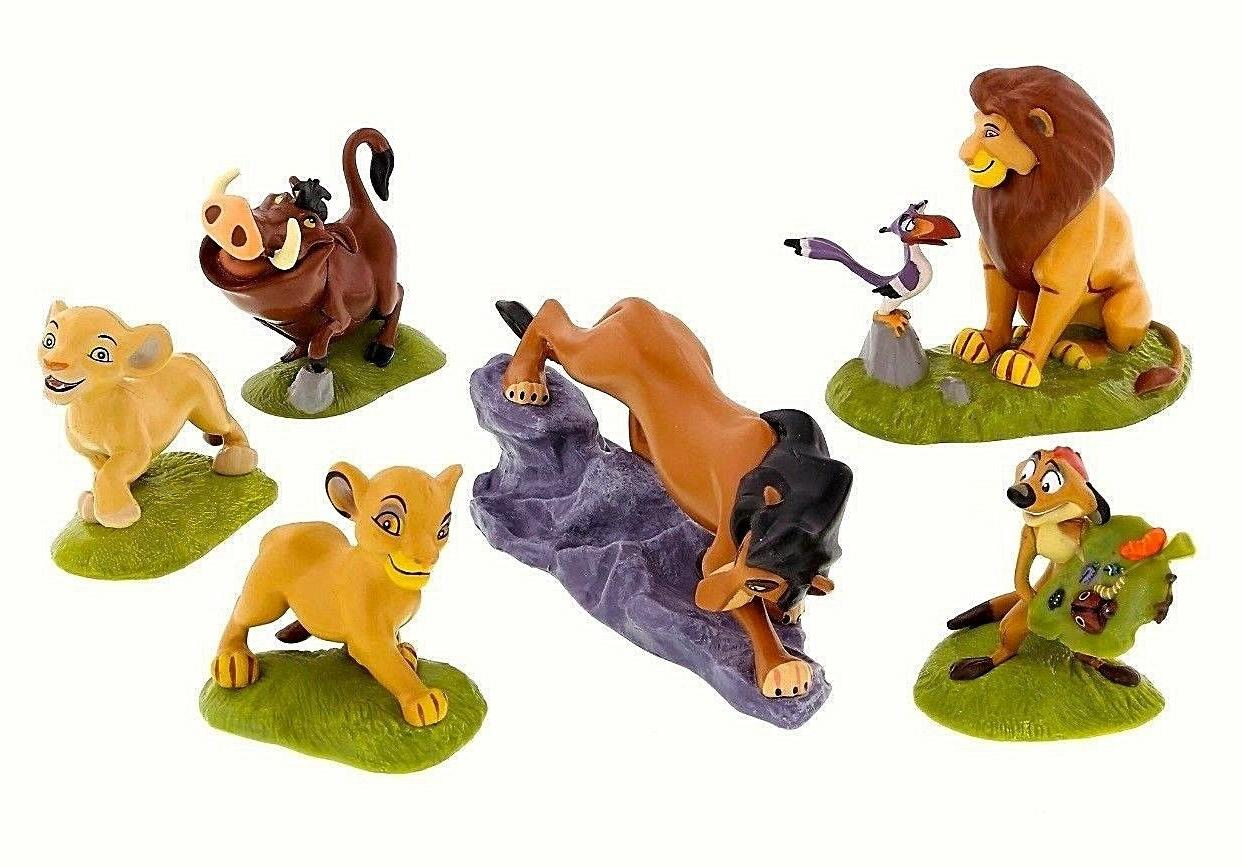the lion king set of 6 figurines