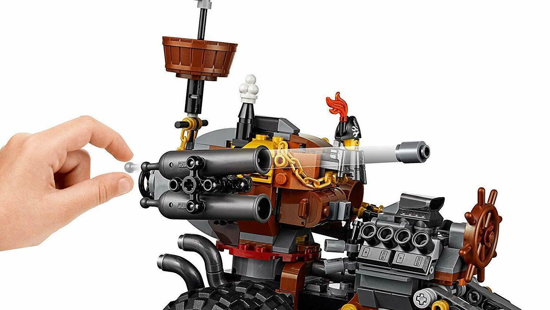 The Lego MetalBeards Motor Trike Set