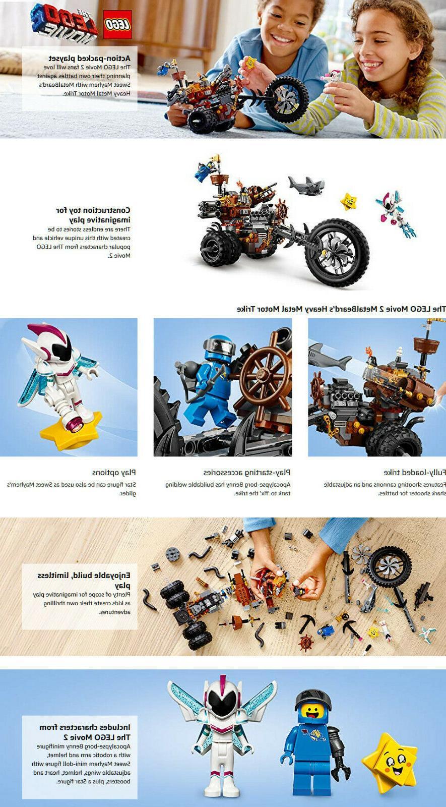 The Lego Movie MetalBeards Trike Set 70834