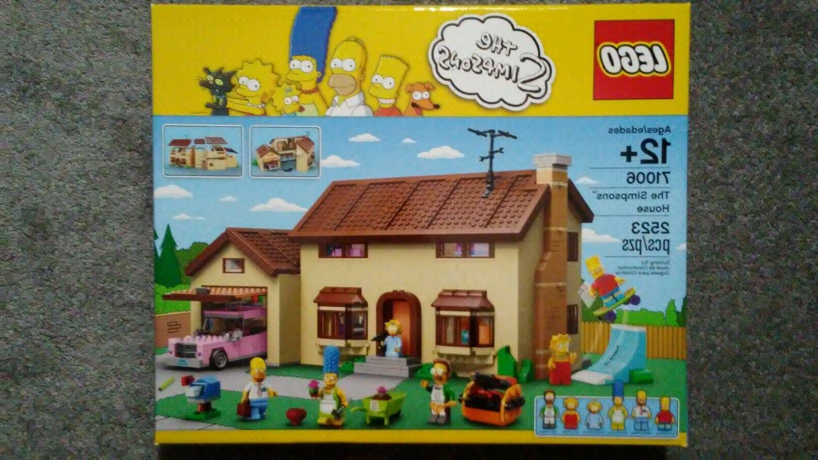 the simpsons house play set 71006