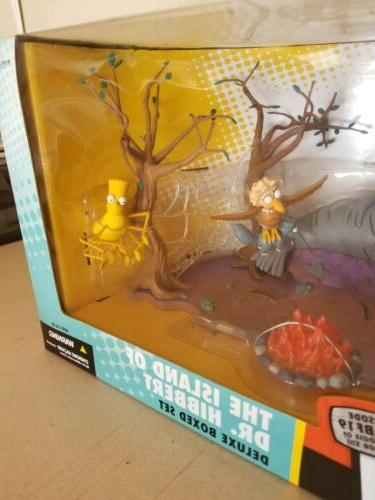 """The Simpsons Toys """"Island Of Hibbert"""" Deluxe Set Playset"""