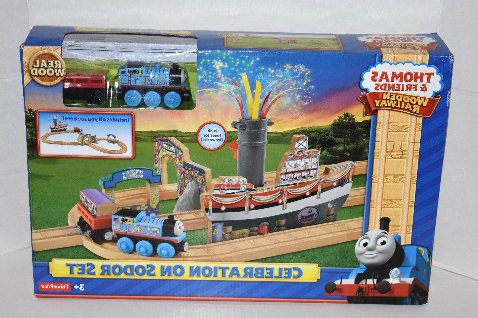 thomas wooden railway set