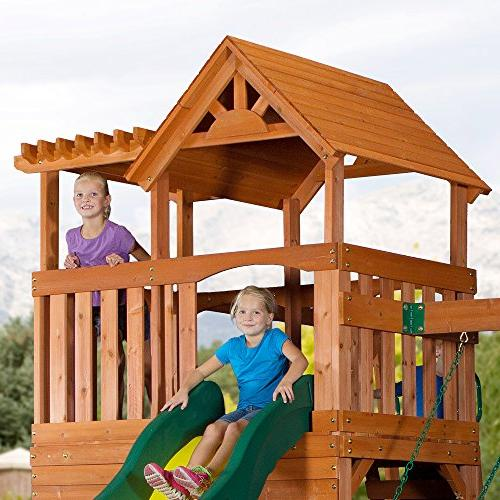 Backyard Thunder Swing Set