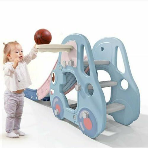 Toddler Play Slide Set Kids Indoor Playground Child Set
