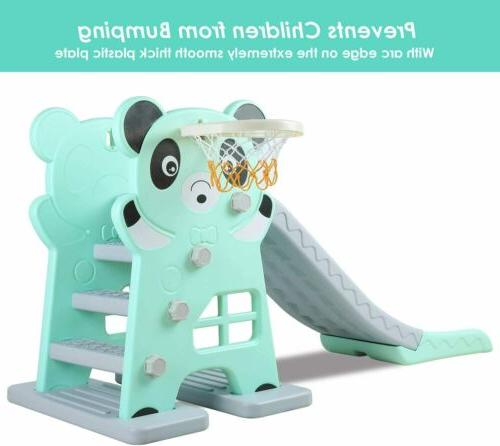 Kids Slide Play Set Home Backyard Toy Playground