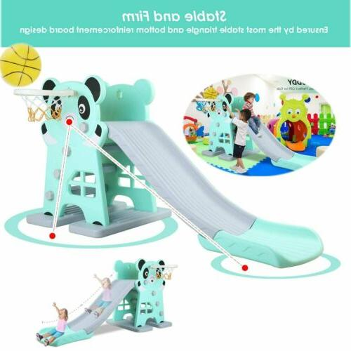 toddler climber play slide set kids indoor