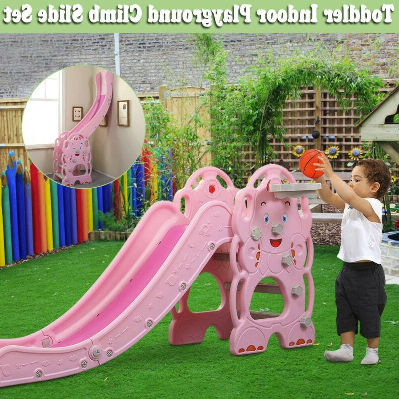 toddler climber slide play slide set kids