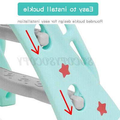 Toddler Slide Swing Indoor Playground Play Toy