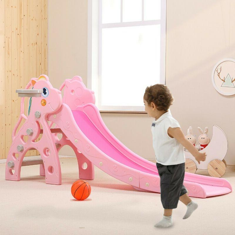 Toddler Kids Slide Playset Playground Kit
