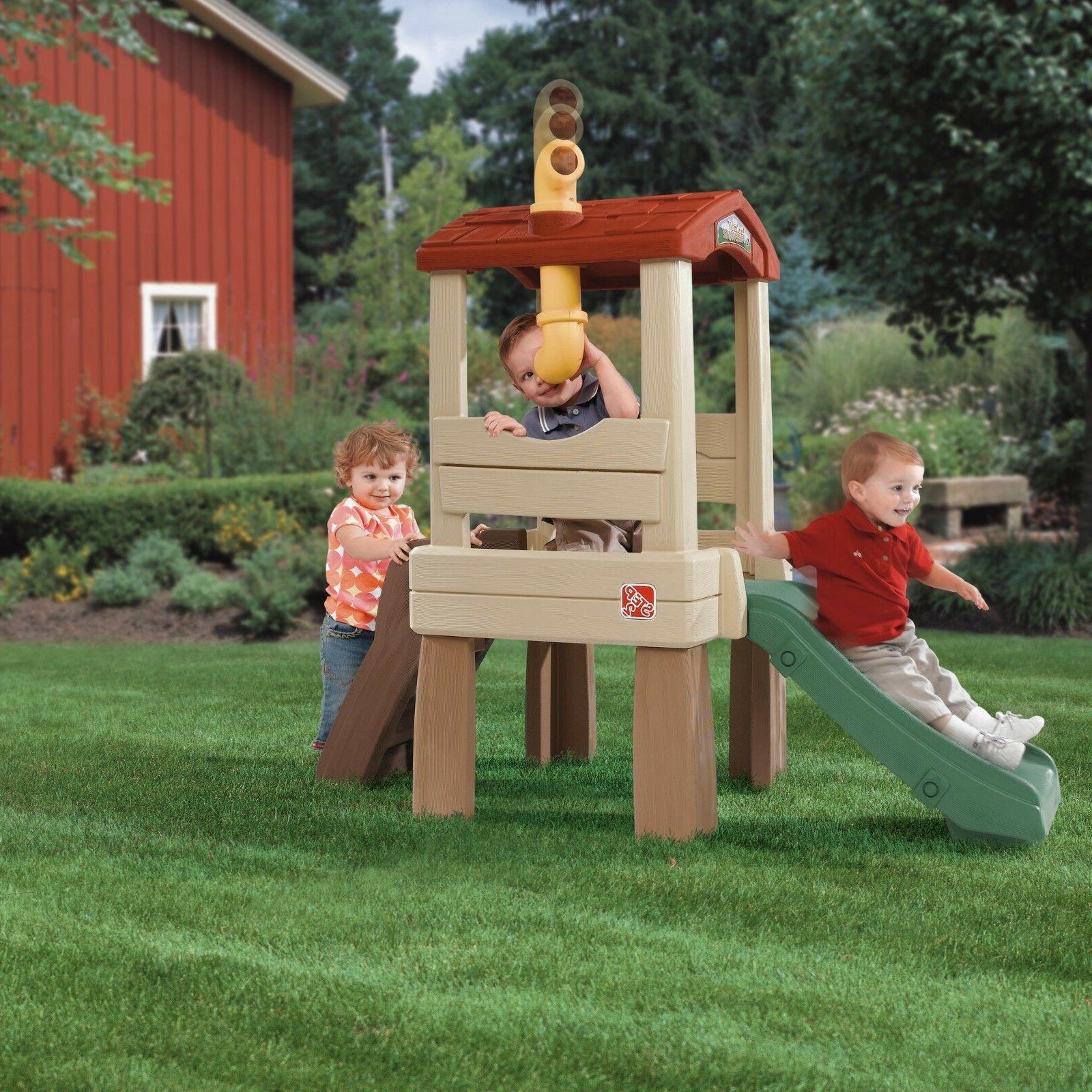 toddler slide playset climber outdoor playground slides