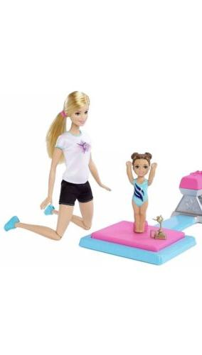 Barbie and Flippin Fun Dolls Playset