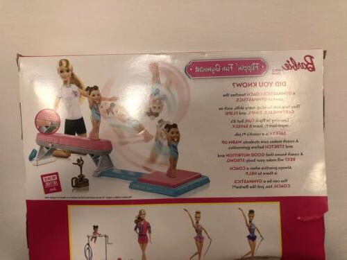 Barbie Student Flippin Gymnastics Playset