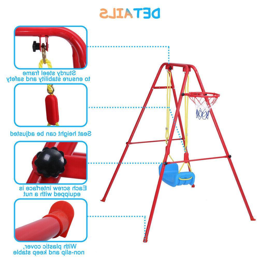 Toddler Swing | 2 in Swing Basketball Set