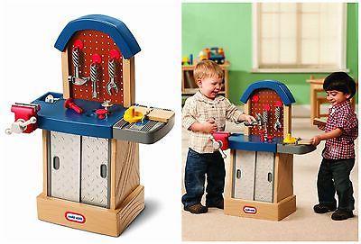 Little Tikes Tough Workshop Kids Toddler Tool Work Bench Toy