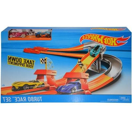 Hot Wheels Turbo Race Set New in Sealed Retail Box