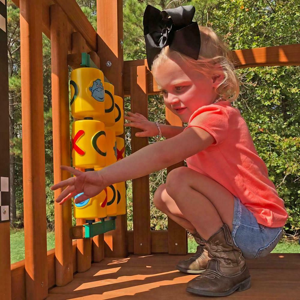 Ultimate Kids Play Swing Ground Backyard NEW
