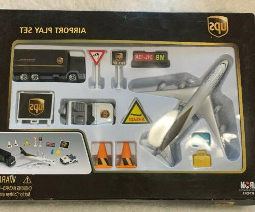 ups airlines die cast metal with plastic