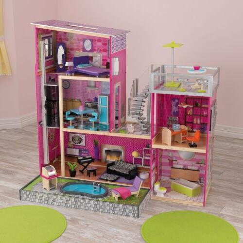 Uptown House Play Set Toy Of Furniture