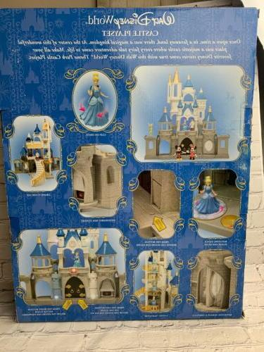 Walt Disney Parks Cinderella Castle Large Play Minnie