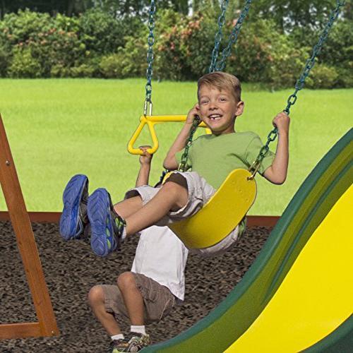 Backyard Discovery Weston Cedar Swing Set