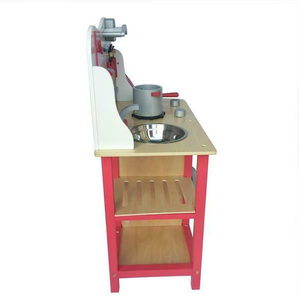 Wood Kitchen Pretend Play Toddler Wooden Gifts
